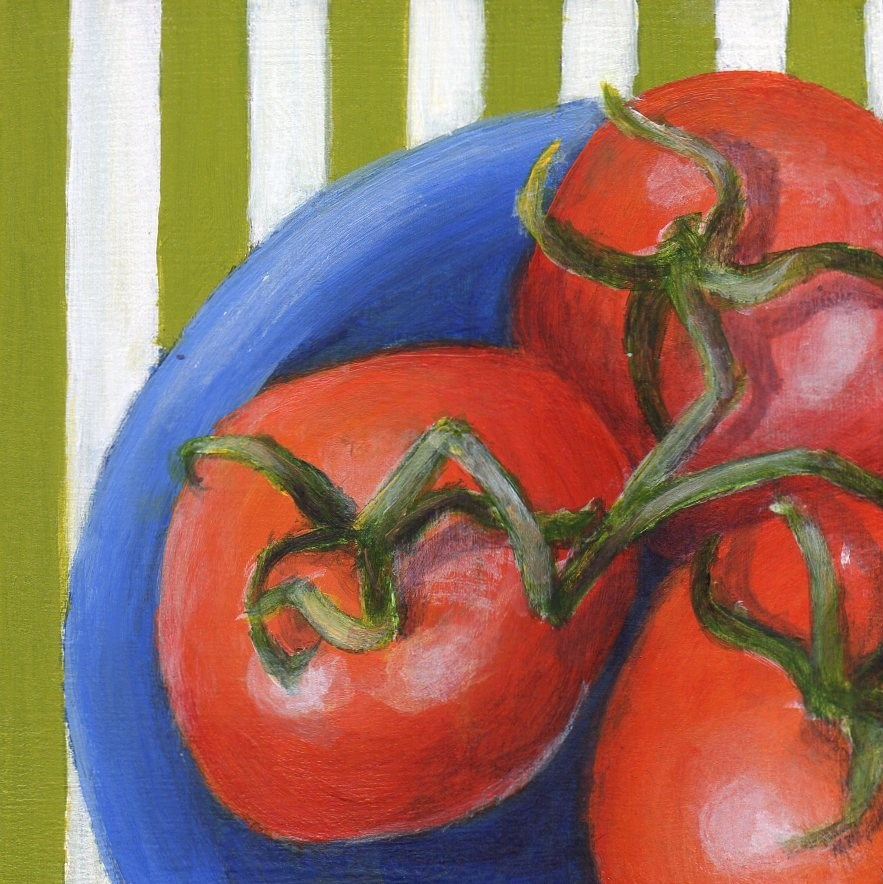 """Summer Ripe"" original fine art by Debbie Shirley"