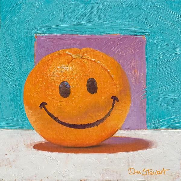 """""""Juicy Day"""" original fine art by Don Stewart"""