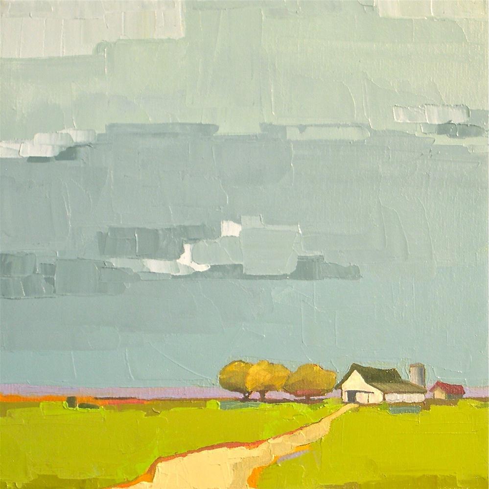 """Farm to Market"" original fine art by Donna Walker"
