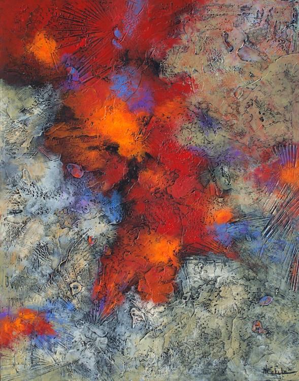 """Hot Spot"" original fine art by Nancy Eckels"