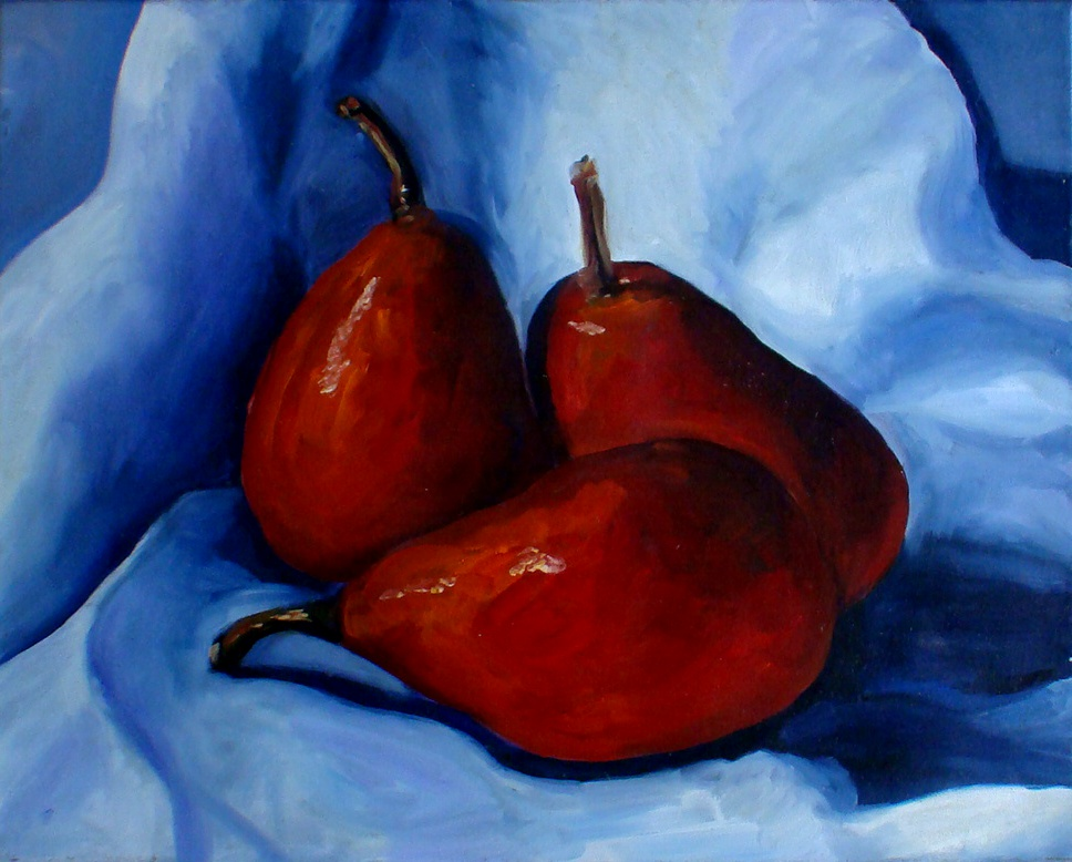 """Three's a crowd"" original fine art by Kristen Dukat"
