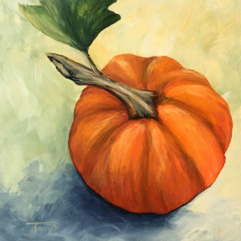 """Little Pumpkin"" original fine art by Torrie Smiley"