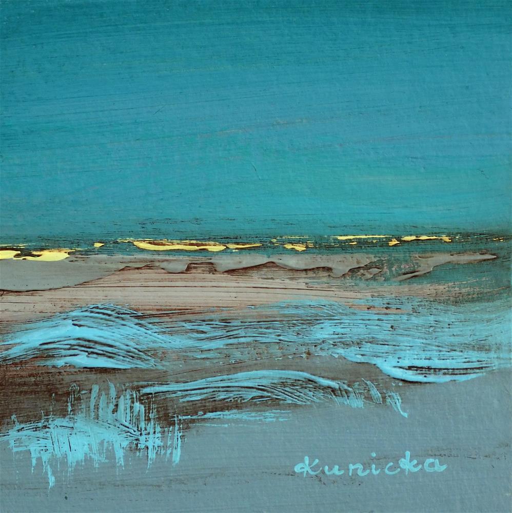 """Landscape 220"" original fine art by Ewa Kunicka"