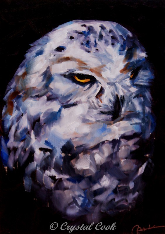 """Guardian"" original fine art by Crystal Cook"