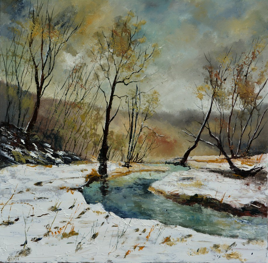 """River Hileau"" original fine art by Pol Ledent"