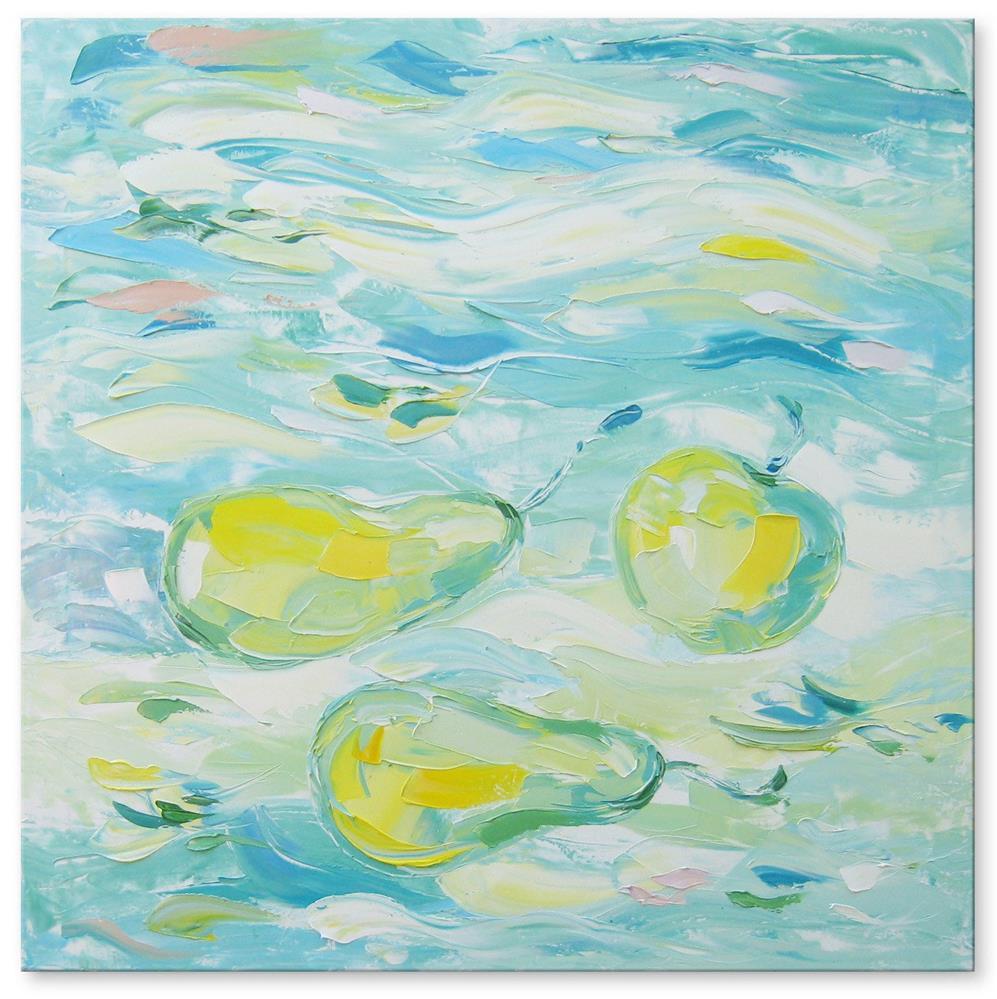 """Fruit morning"" original fine art by Elena Lunetskaya"