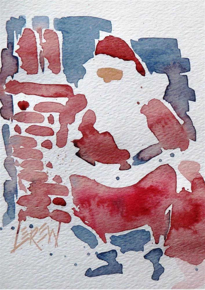 """Up On The Roof Top II by Larry Lerew 161202"" original fine art by Larry Lerew"