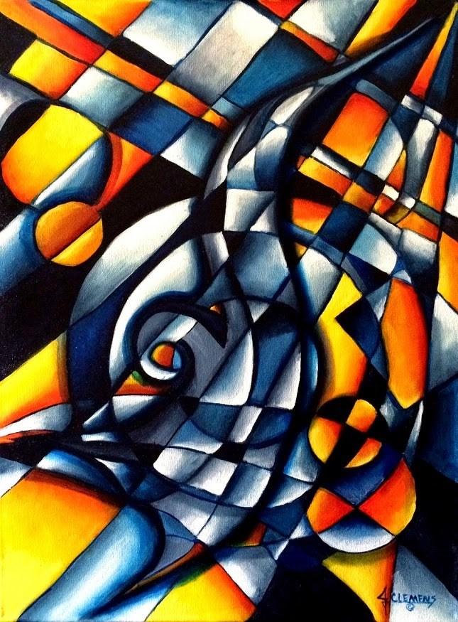 """""""Hummingbird"""" original fine art by Jolynn Clemens"""