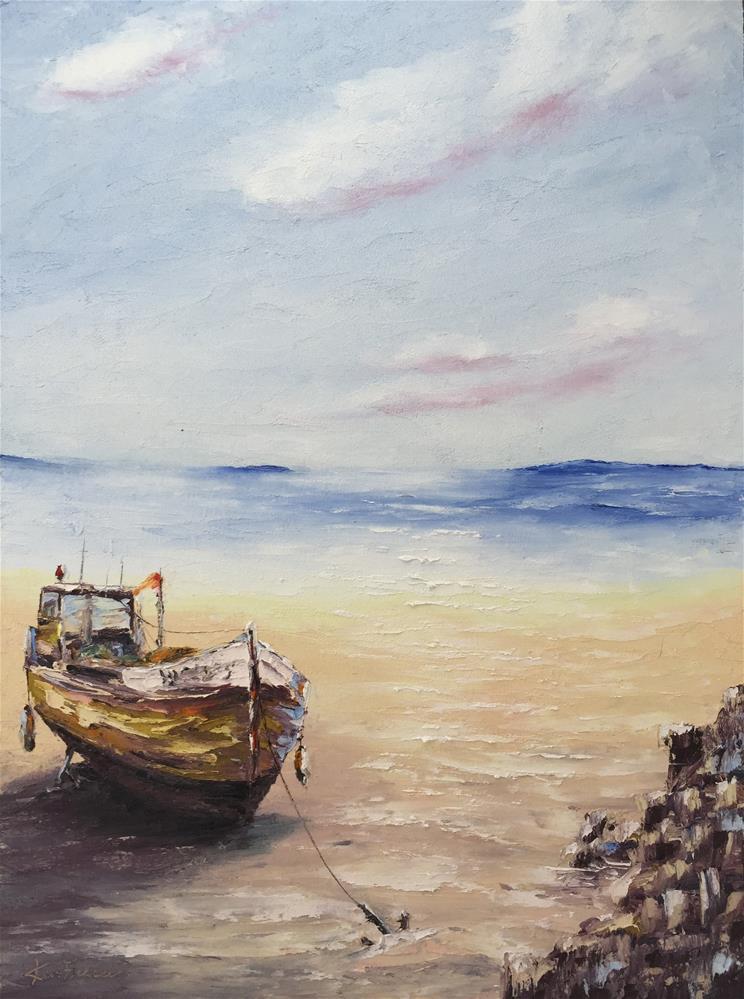 """""""Stranded II"""" original fine art by Ken Fraser"""