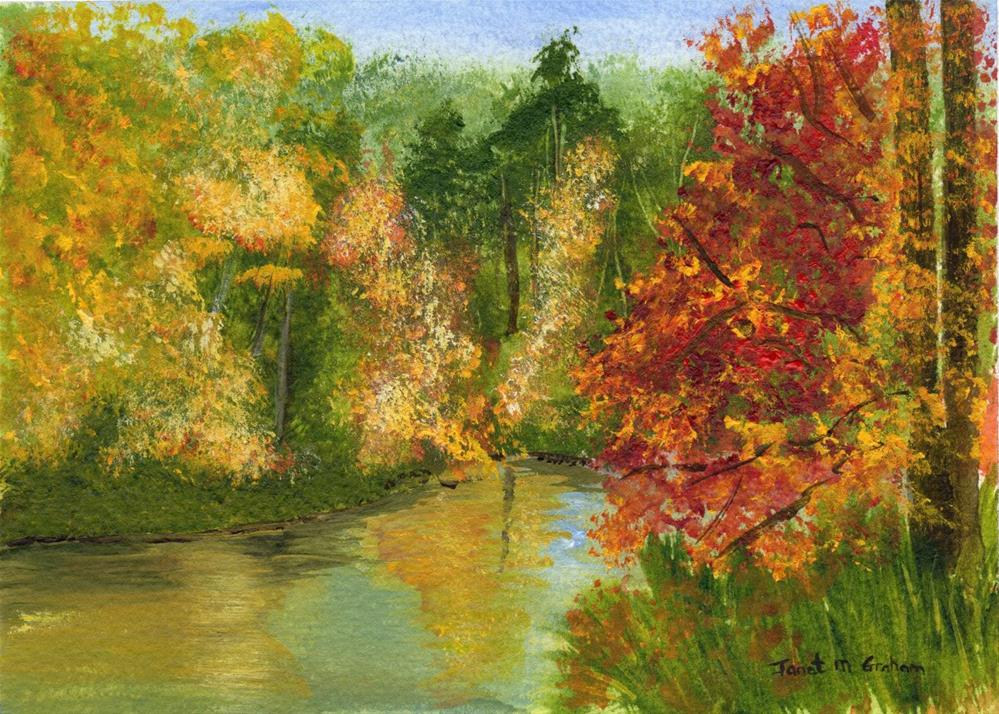 """Fall"" original fine art by Janet Graham"
