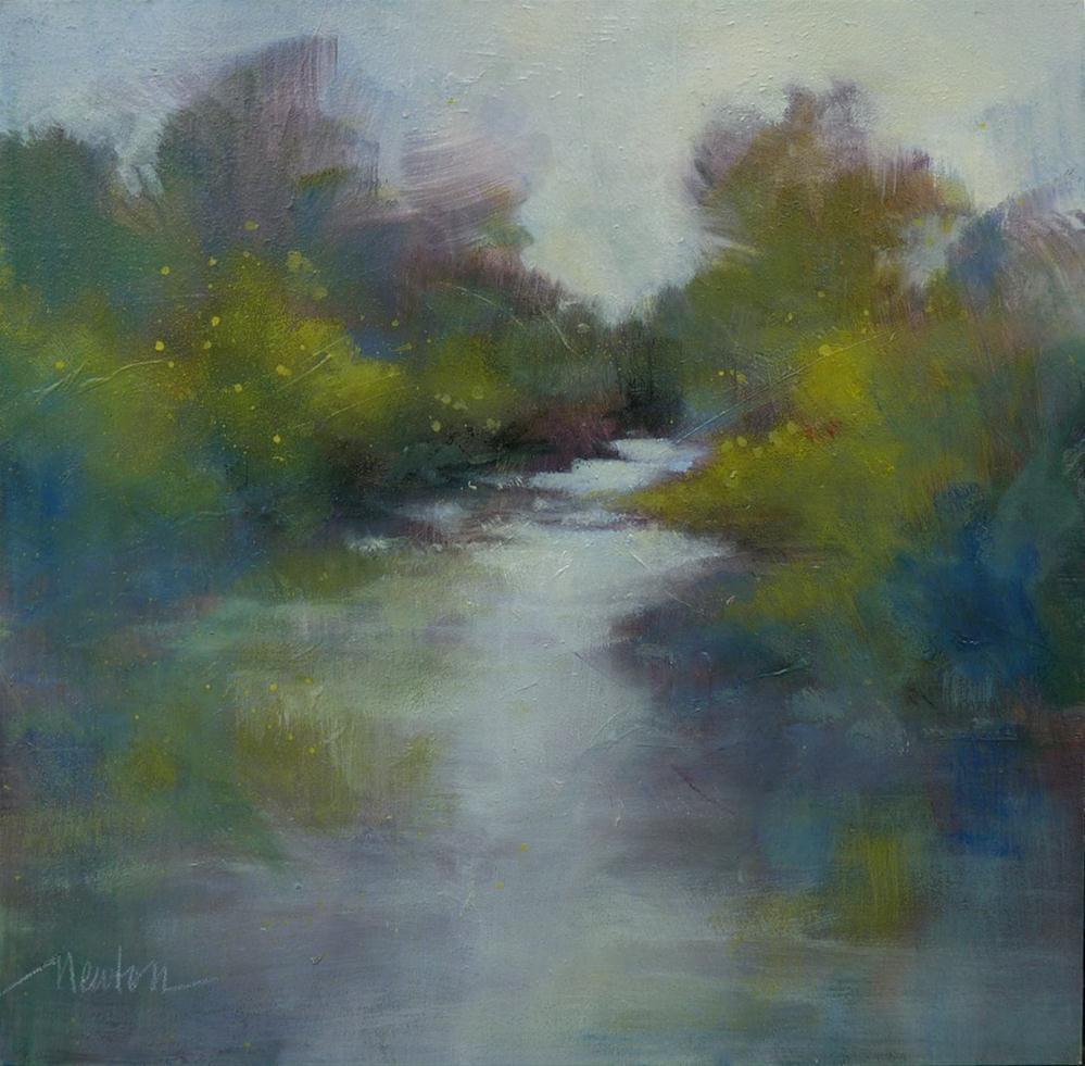 """Sweetwater Creek"" original fine art by Barbara Benedetti Newton"