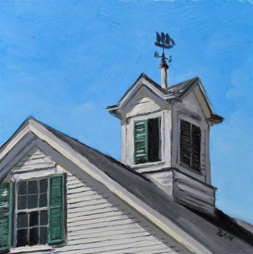 """Cupola"" original fine art by Peter Bain"