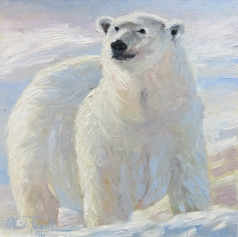 """Majestic"" original fine art by Christa Friedl"