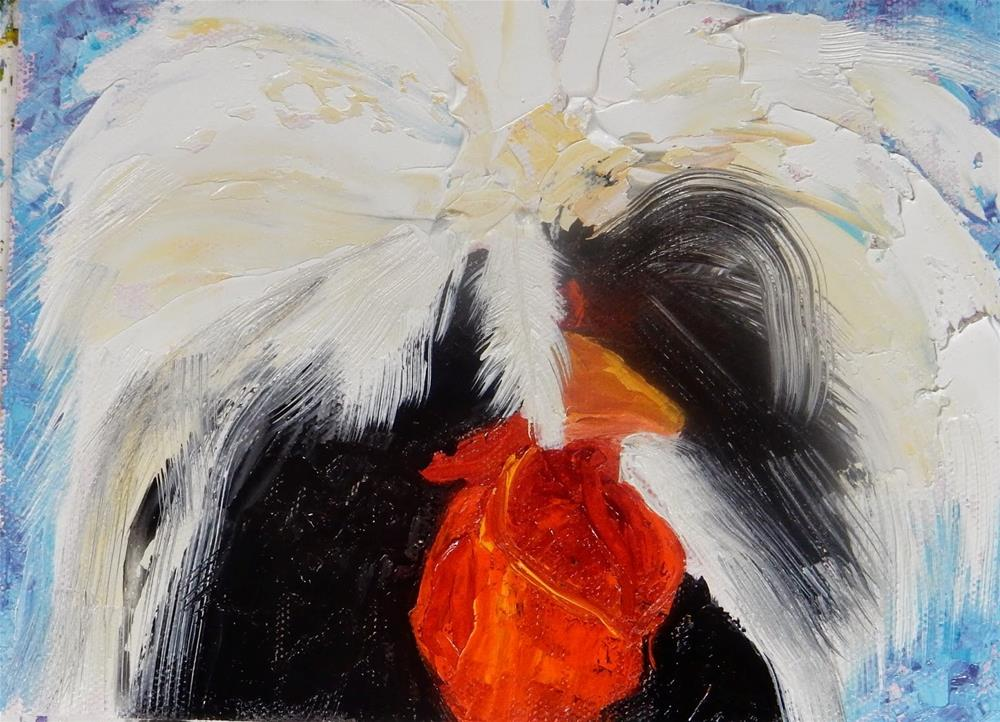 """Black and White"" original fine art by Phyllis Davis"