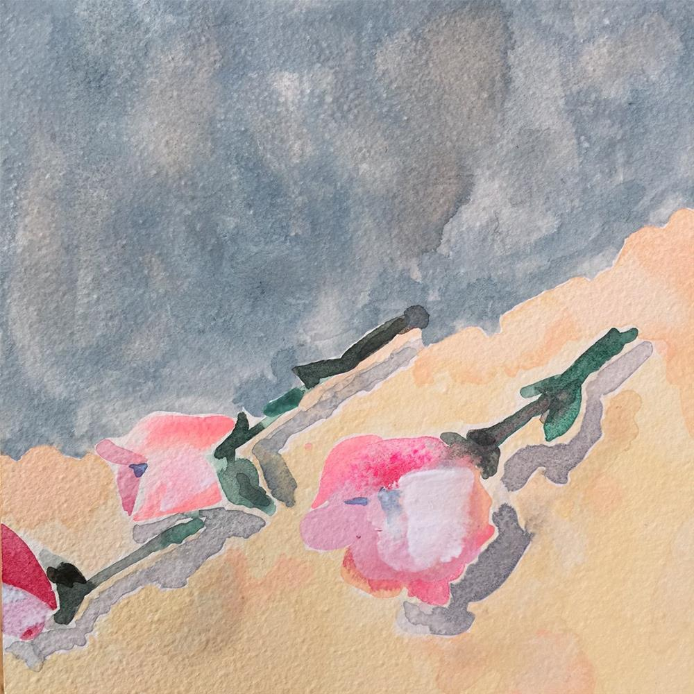 """142 Pretty Roses"" original fine art by Jenny Doh"