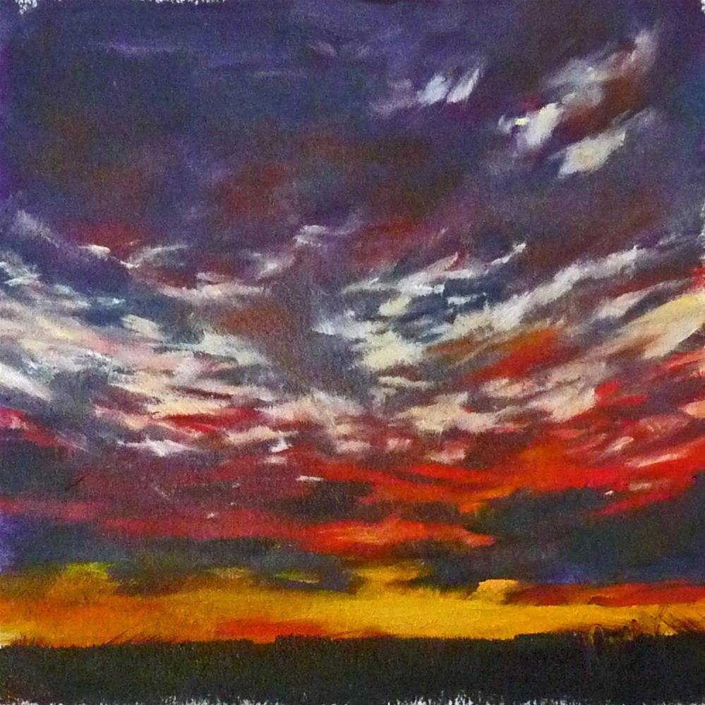 """Sky4"" original fine art by Sharman Owings"