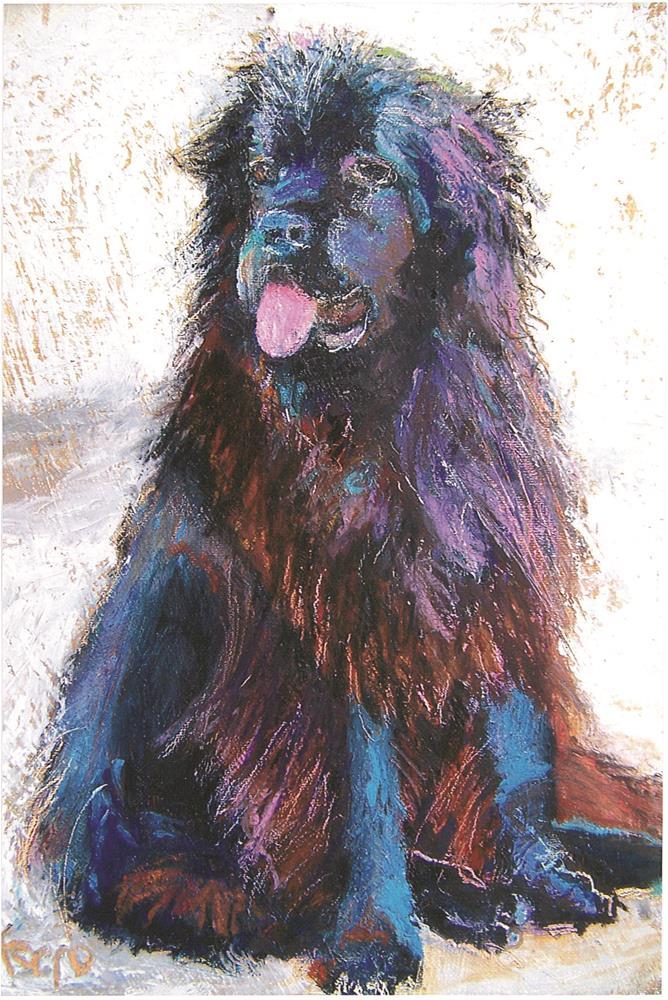 """Sofie"" original fine art by Susan Ferro"