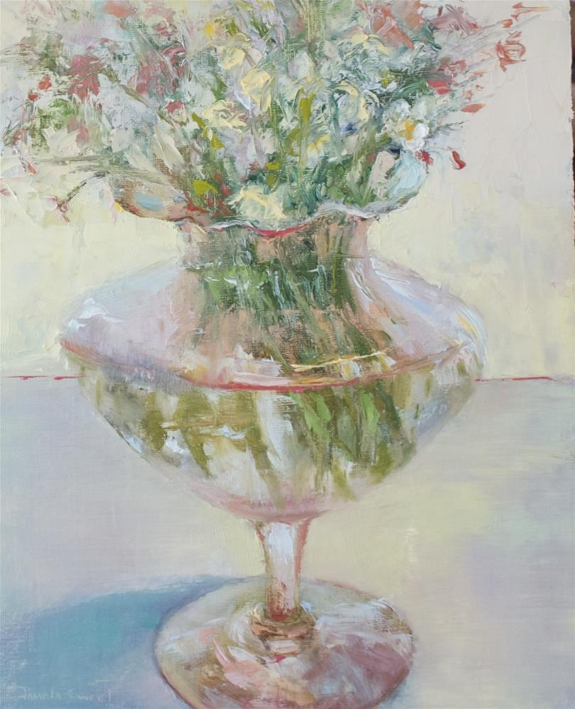 """Spring Bouquet"" original fine art by Pamela Sweet"