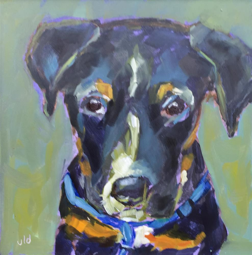 """THE GOOD BOY"" original fine art by Jean Delaney"