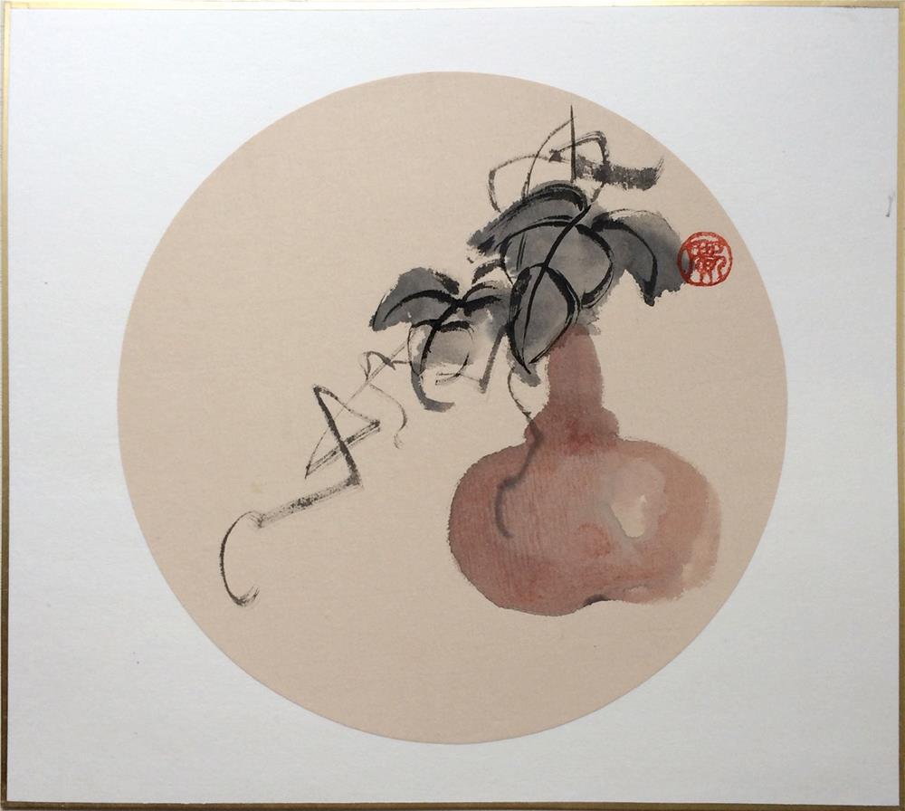 """Gourd"" original fine art by R kwong"