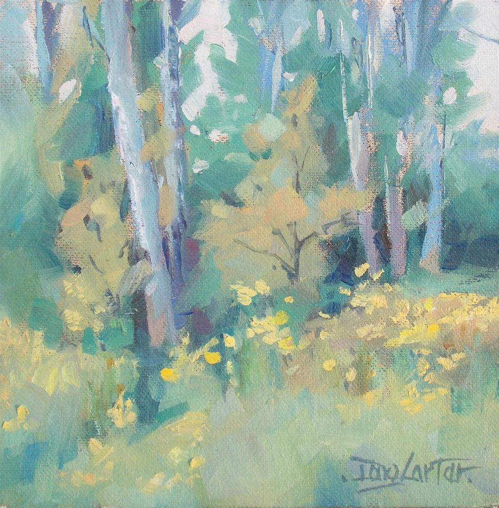 """ SOFT MEADOW "" original fine art by Doug Carter"