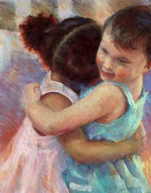 """Original Pastel, I Have a Dream"" original fine art by Carol Schiff"