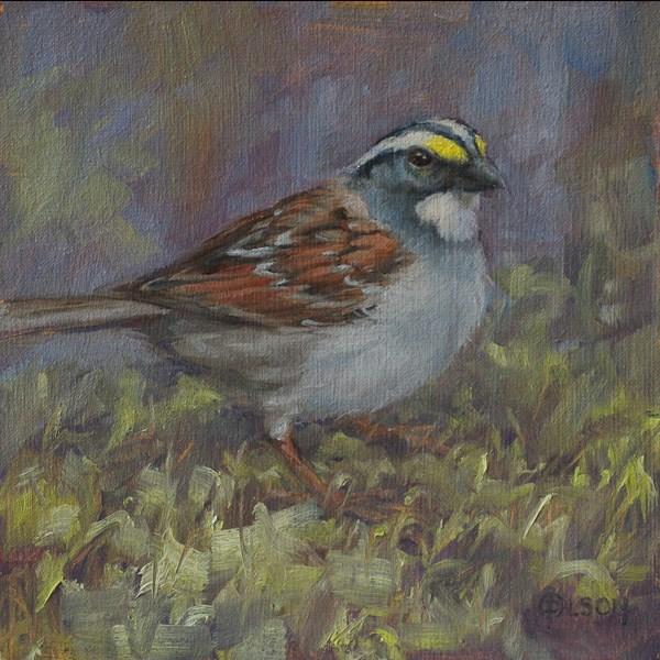 """""""the color yellow"""" original fine art by Priscilla Olson"""