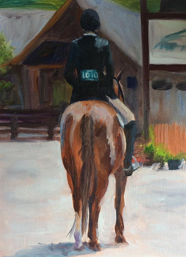 """Start the Class"" original fine art by Carol Roark"