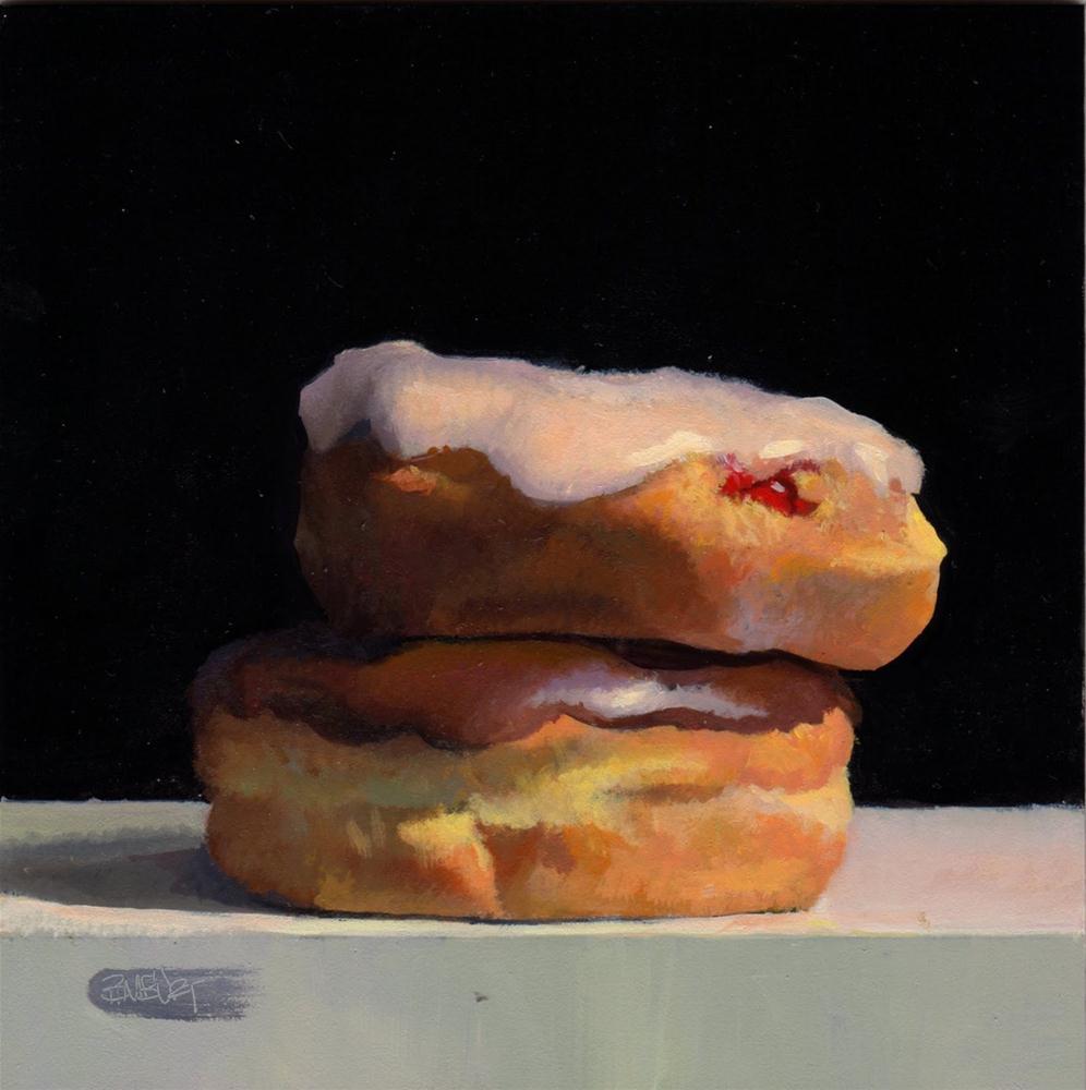 """#297 Doughnut Series Prep"" original fine art by Brian Burt"