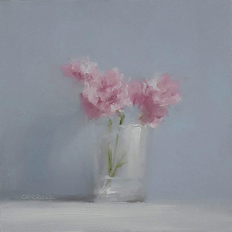"""""""Carnation Glass"""" original fine art by Neil Carroll"""