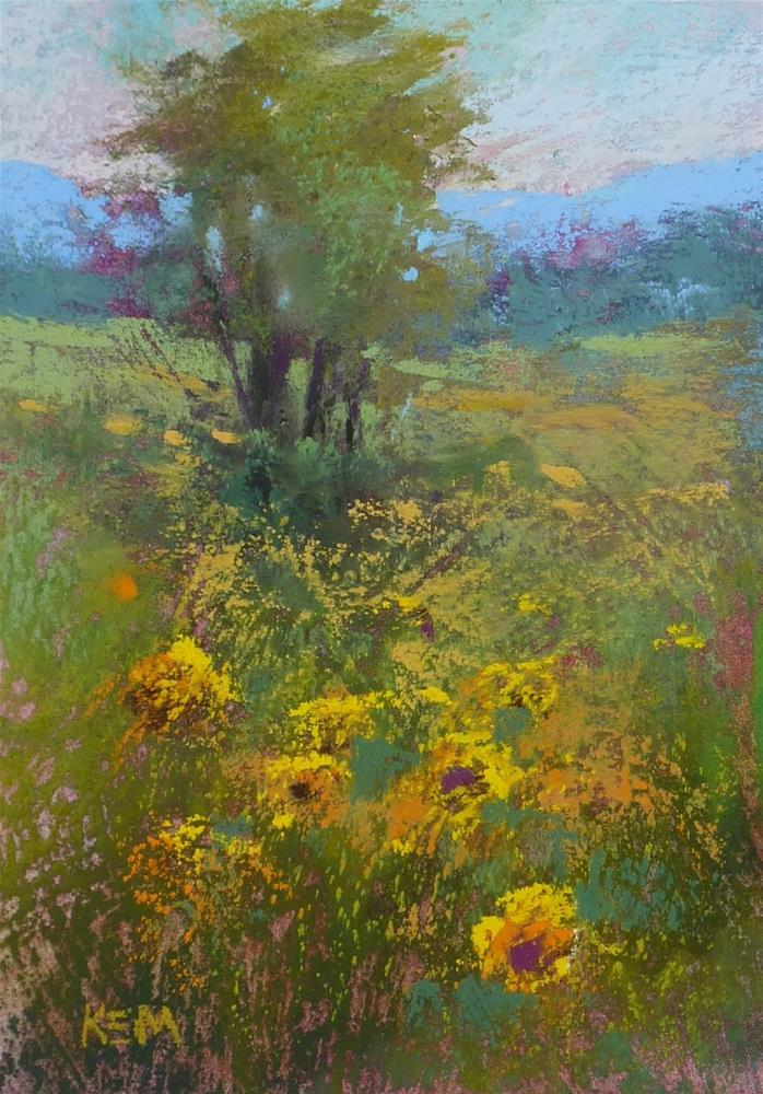"""The Most Important Thing about Creating Depth in a Landscape Painting"" original fine art by Karen Margulis"