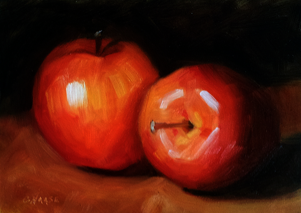 """Autumn Galas"" original fine art by Cindy Haase"