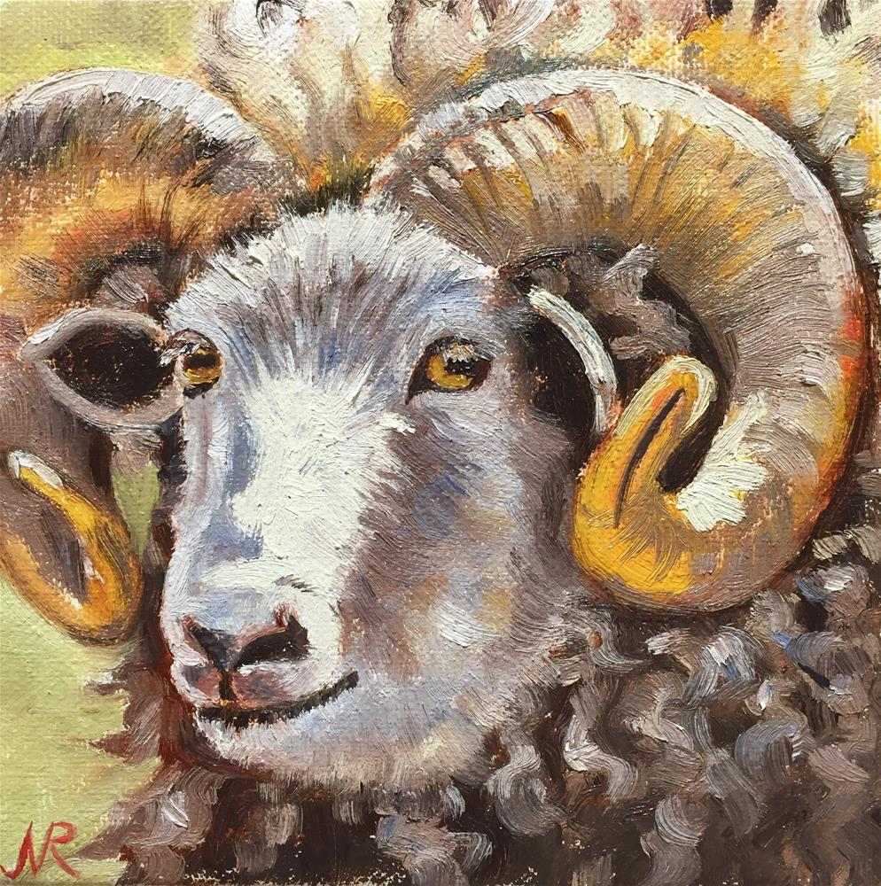 """Sunny Ram"" original fine art by Natasha Ramras"