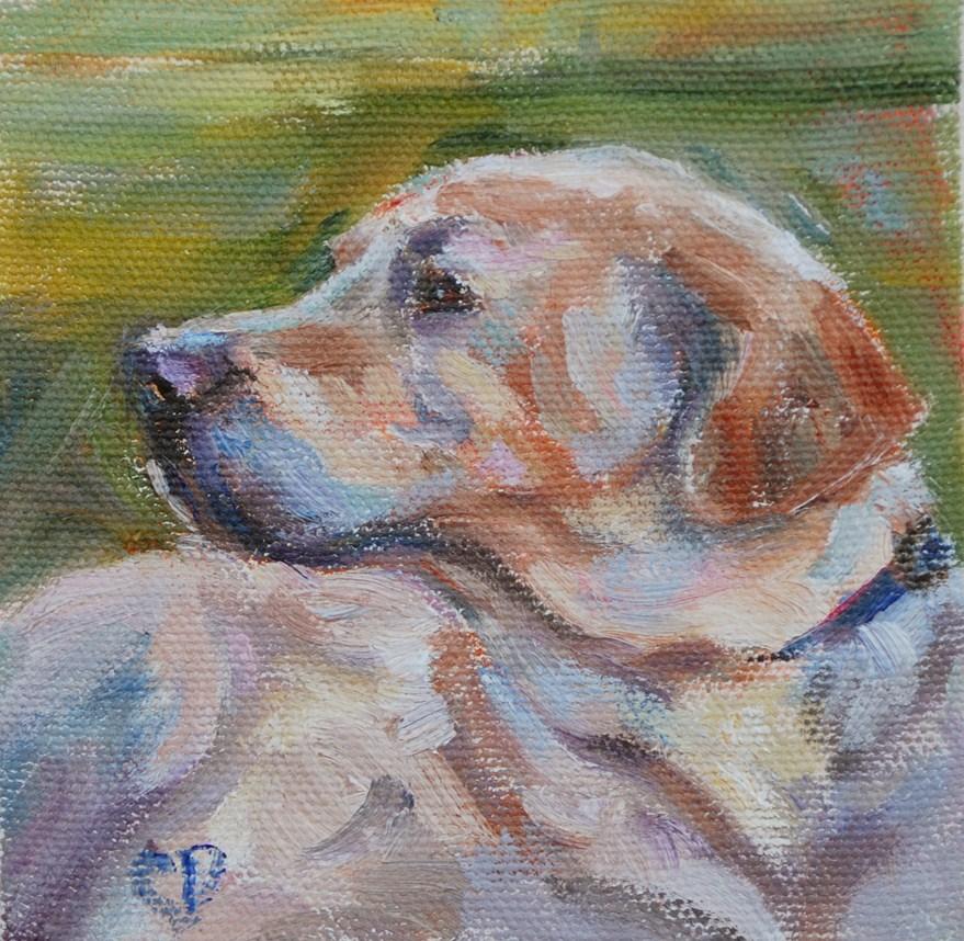 """Loyal Friend"" original fine art by Carol DeMumbrum"