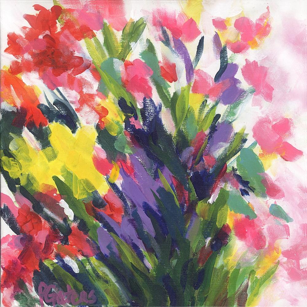 """""""Flower Song"""" original fine art by Pamela Gatens"""