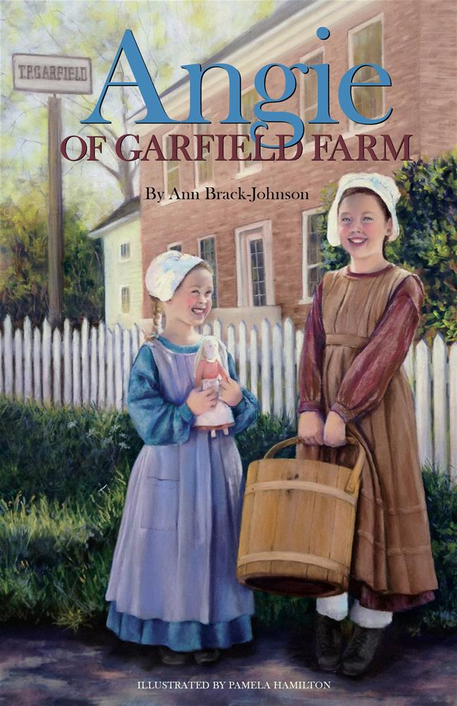 """Angie of Garfield Farm"" original fine art by Pamela Hamilton"