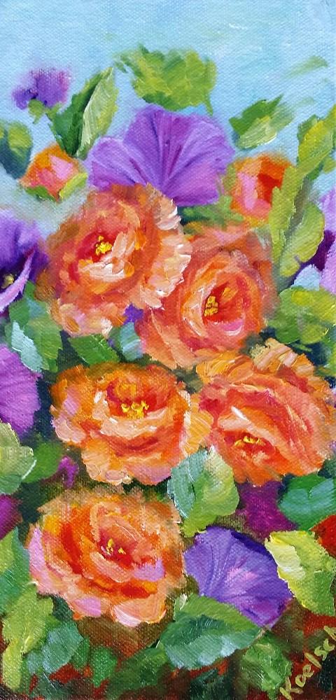 """Spring Is In The Air"" original fine art by Bobbie Koelsch"