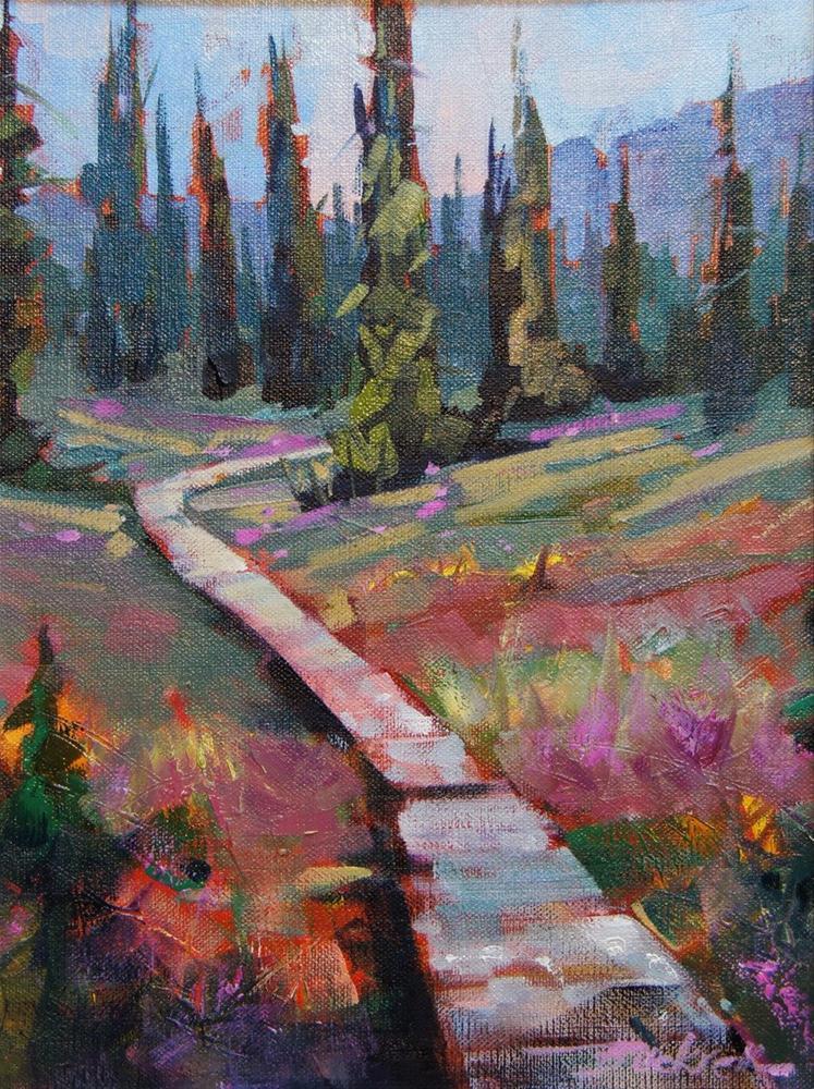 """Around the Meadows"" original fine art by Brian Buckrell"