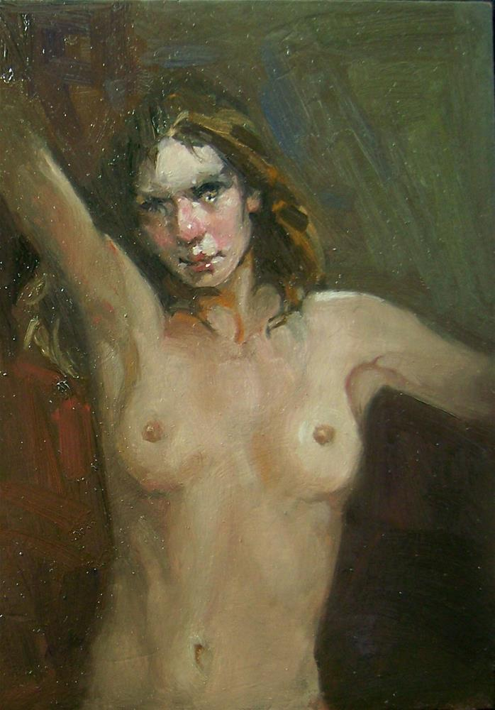 """Nude"" original fine art by Kim Roberti"