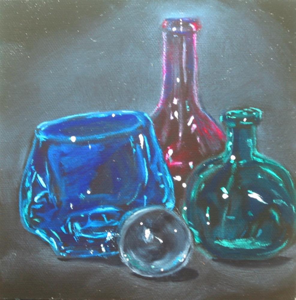 """Glass Study"" original fine art by Patricia Murray"