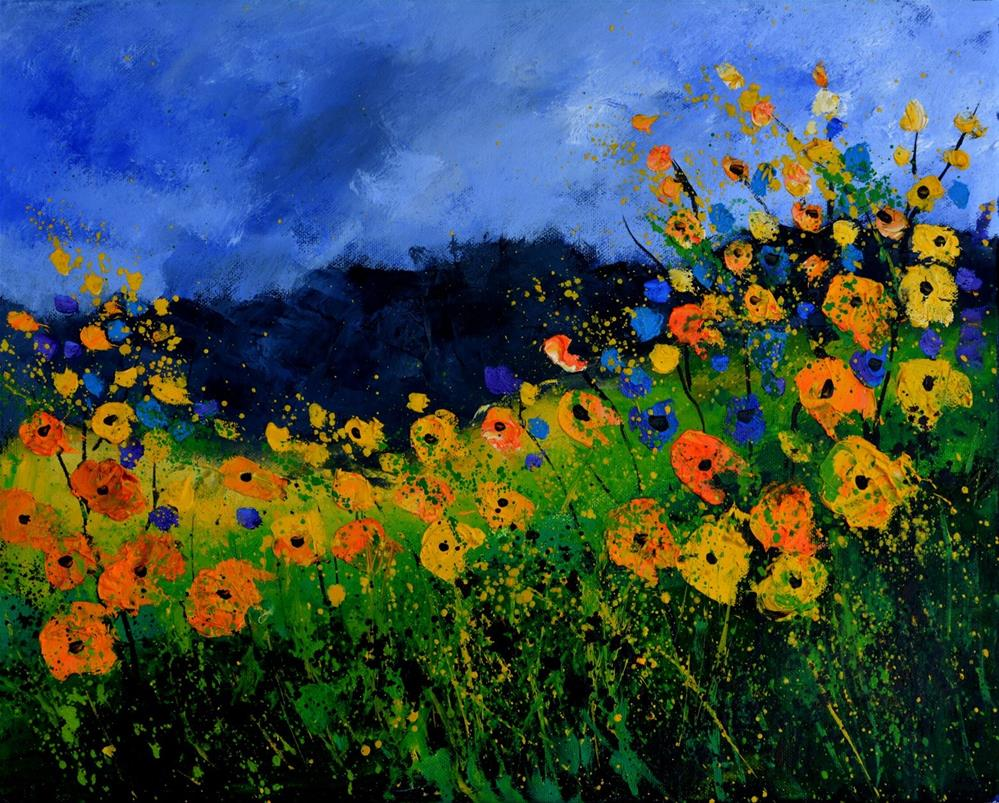 """Landscape 545111"" original fine art by Pol Ledent"