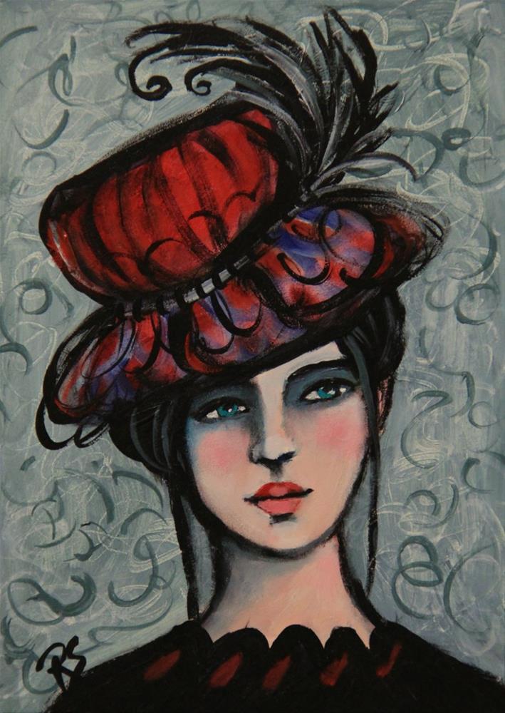"""Bristol"" original fine art by Roberta Schmidt"