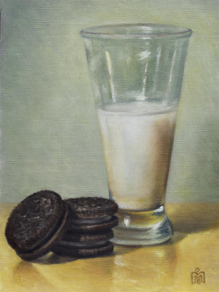 """Snack Time"" original fine art by Melissa  Imossi"