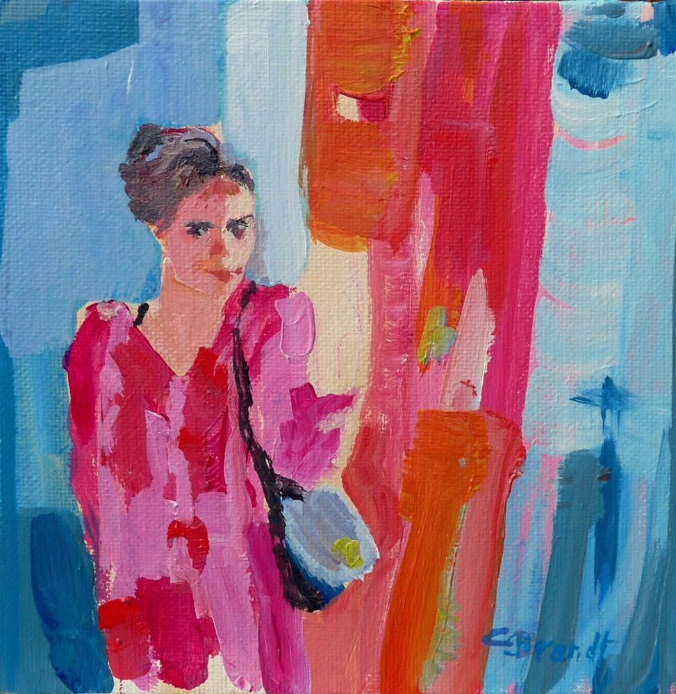 """Freya"" original fine art by Claudia Brandt"