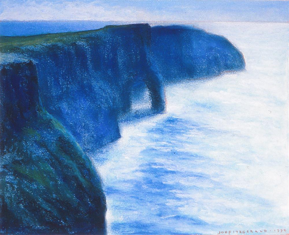 """Moher Arch III"" original fine art by Joe Fitzgerald"