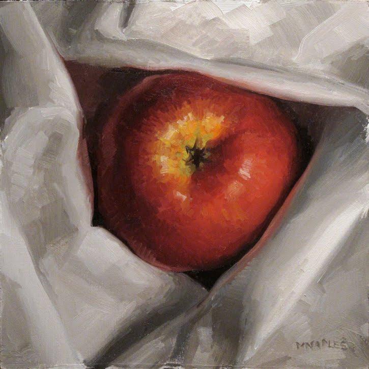 """Apple Bottom"" original fine art by Michael Naples"