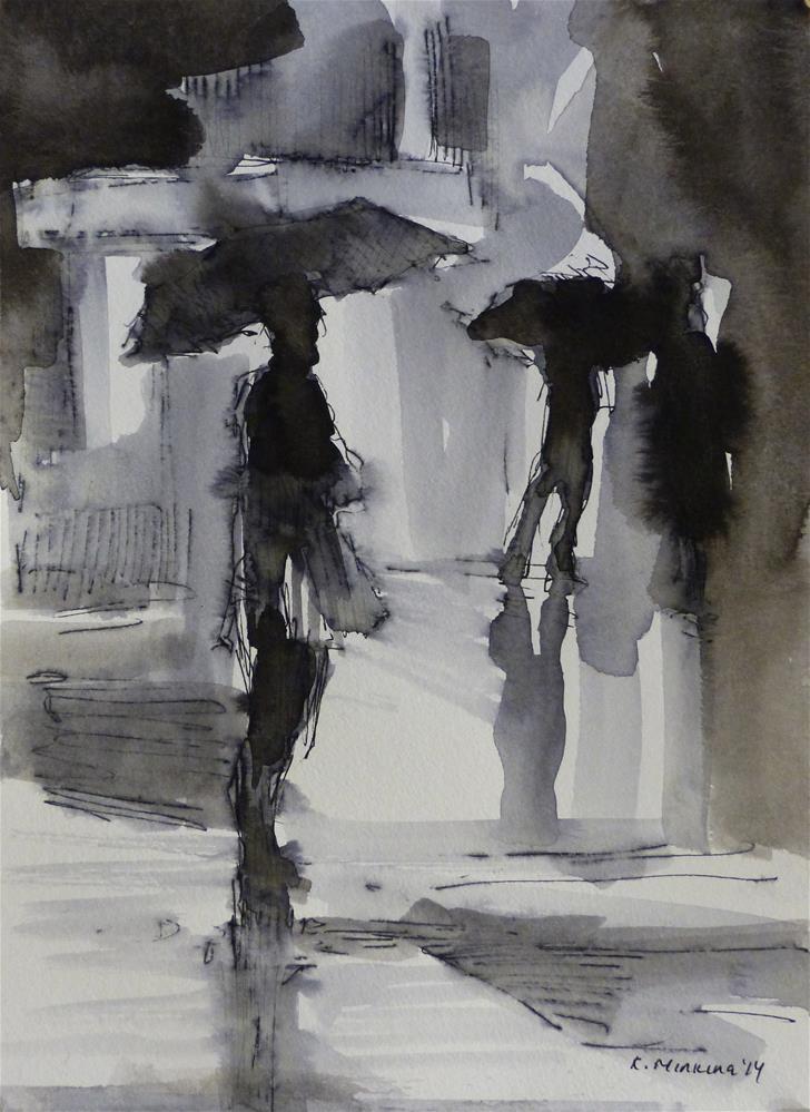 """urban21"" original fine art by Katya Minkina"