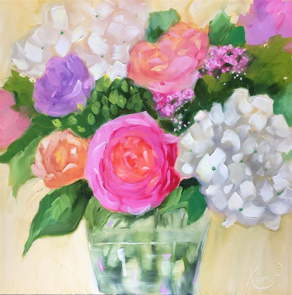 """Spring Bouquet #2"" original fine art by Kim Peterson"