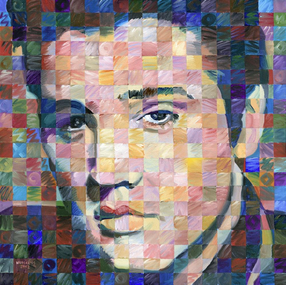 """""""Elvis Presley"""" original fine art by Randal Huiskens"""