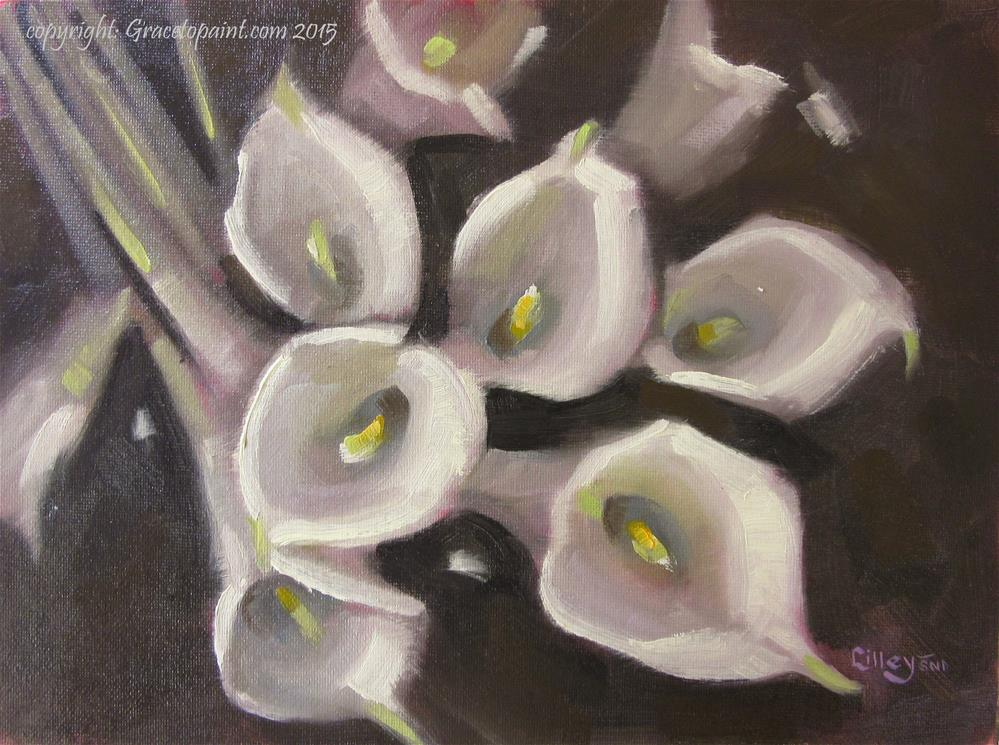 """Callas"" original fine art by Maresa Lilley"